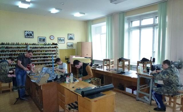 Урок по ремонту обуви